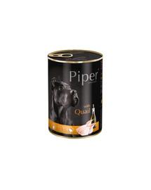 NOTECI PIPER VALLEY s prepelicami 400 g  krmiva pre dospelých psov