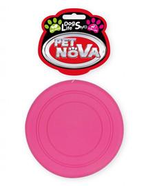 PET NOVA DOG LIFE STYLE Frisbee 18cm, ružová, mätová aróma