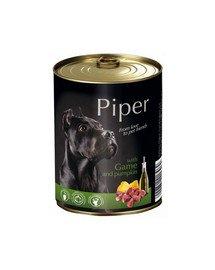 DOLINA NOTECI PIPER konzerva pre dospelých psov so zverinou a tekvicou 800 g