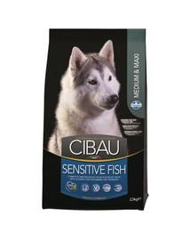 CIBAU Sensitive Fish Medium & Maxi 2.5 kg