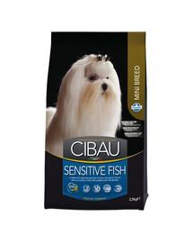 CIBAU Sensitive Mini 2,5 kg Fish