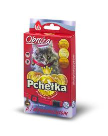 PCHELKA Obojok proti ektoparazitom pre mačky 30 cm