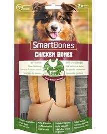 SmartBones Chicken medium – Žuvacie tyčinky pre psy stredných plemien s kuracím mäsom 2 ks