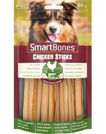 SmartBones Chicken Sticks – Žuvacie tyčinky s kuracím mäsom 5ks