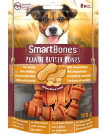 SmartBones Peanut Butter mini – Žuvacie tyčinky pre malé plemená s arašidovým maslom 8 ks