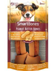 SmartBones Peanut Butter medium – Žuvacie tyčinky pre psov stredných plemien s arašidovým maslom 2 ks