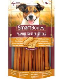 SmartBones Peanut Butter Sticks – Žuvacie tyčinky pre psov  s arašidovým maslom 5 ks