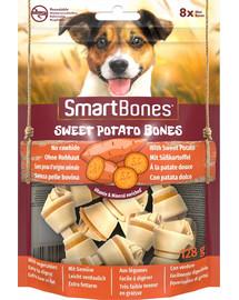 SmartBones Sweet Potato mini – Žuvacie tyčinky pre malých psov zo sladkých zemiakov 8 ks