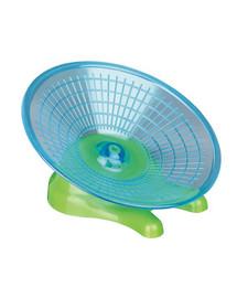 TRIXIE Bežecké koliesko - lietajúci tanier pre škrečkov a myši. Ø 17 cm
