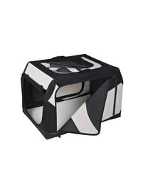 TRIXIE Transportný box vario nylon čierno-sivý 91 × 58 × 61 cm