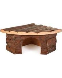 TRIXIE Rohový drevený domček pre morča jesper 32 X 13 X 21/21 cm