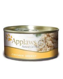APPLAWS Kot puszka 70 g pierś z kurczaka