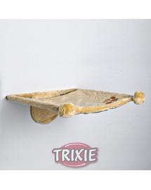 TRIXIE Závesné odpočívadlo pre mačky . 42 x 41 x 15 cm. Béžové