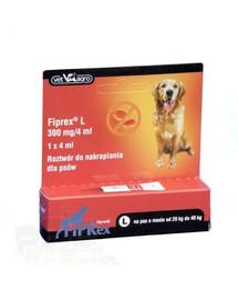 VET-AGRO FIPREX SPOT ON L 20-40 kg 1 szt.
