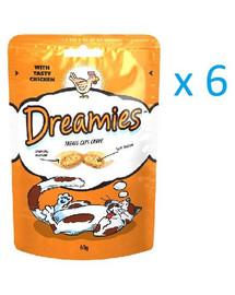 Dreamies s kuracím mäsom 0.06 kg x6