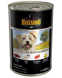 BELCANDO Pies jagnięcina ryż i pomidor 400 g