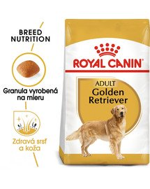 ROYAL CANIN Golden Retriever Adult 12 kg granule pre dospelého zlatého retrievera