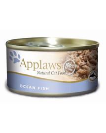 APPLAWS Konzerva Cat 156g morské ryby