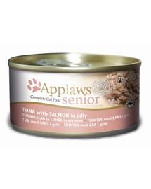 APPLAWS Senior Tuniak a losos 70 g