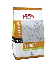 ARION Original Adult Medium Senior kuracie & ryža 12 kg