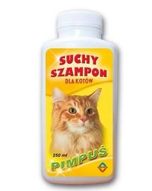 BENEK Szampon suchy dla kotów pimpuś 250 ml
