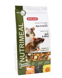 ZOLUX Zmes Nutri'Meal Potkan / myš 800 g