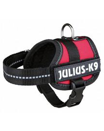 TRIXIE Postroj pre psov Julius-K9 harness M - L 58-76 cm červený