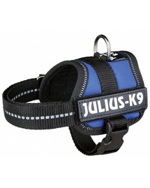 TRIXIE Postroj pre psov Julius-K9 postroj M - L 58-76 cm modrý
