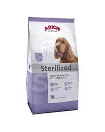 ARION Health & care dog Sterilised 12 kg