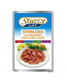 STUZZY Sterilized - S morčacím mäsom pre mačky sterilizované 100G