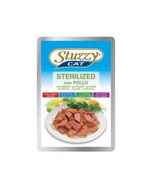 STUZZY Sterilized - a kuracie mäso pre sterilizované mačky 100G