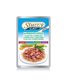 STUZZY Ham Veal - šunka a teľacie mäso v želé 100G