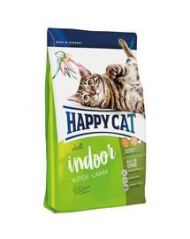 HAPPY CAT Fit & Well Indoor Adult Jahňacie 300 g