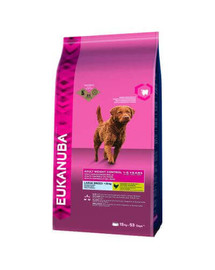 EUKANUBA Weight Control Adult Large Breeds Chicken 3 kg