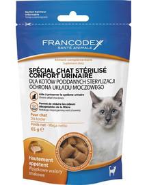 FRANCODEX Maškrta pre mačky - Ochrana močového ústrojenstva 65 g