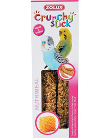 ZOLUX Crunchy Stick pre malé papagáje pšeno a med 85 g
