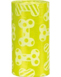 TRIXIE Náhradné sáčky na trus 4x20 sáčkov citrón