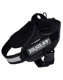 TRIXIE Postroj pre psov Julius-K9 IDC 2/L–XL: 71–96 cm/50 mm čierny