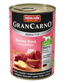 ANIMONDA Grancarno Sensitive hovädzie a zemiaky 800 g