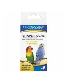 FRANCODEX Vitamíny pre papagáje 150 ml + 18 g