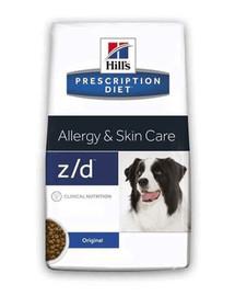 HILL'S Prescription Diet Canine Allergy Skin & Care z / d 10 kg