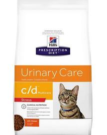 HILL'S Prescription Diet Feline c / d Multicare Urinary Stress 4 kg