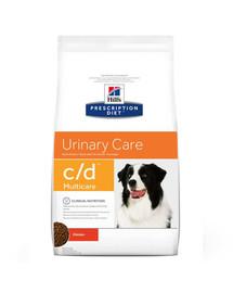 HILL'S Prescription Diet Canine c / d Multicare Chicken 5 kg