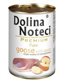 DOLINA NOTECI Premium Pure Gęś Z Jabłkiem 800g
