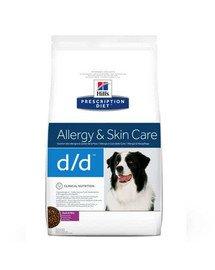 HILL'S Prescription Diet Canine d / d Duck & Rice 5 kg