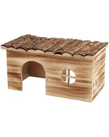TRIXIE Domek dla królika drewniany podpalany 45×24×28cm