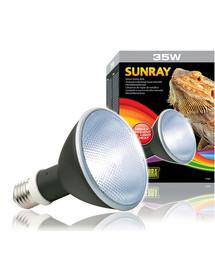 EXOTERRA Halogénová lampa SunRay so žiarovkou a predradníkom 35W