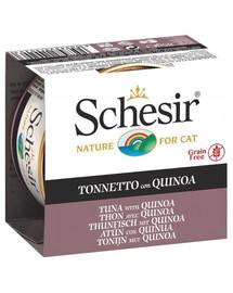 SCHESIR Tuniak a quinoa v želé 85g