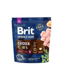 BRIT Premium By Nature Adult Small S 1 kg