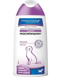 FRANCODEX šampón proti svrbeniu pes 250 ml